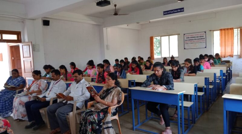 Welcoming of FYBA/FYBCom students in this academic year 2021-22